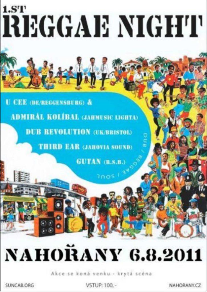 první reggae nahořany
